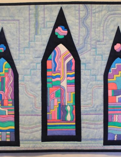 Stained Glass and Spires  2015